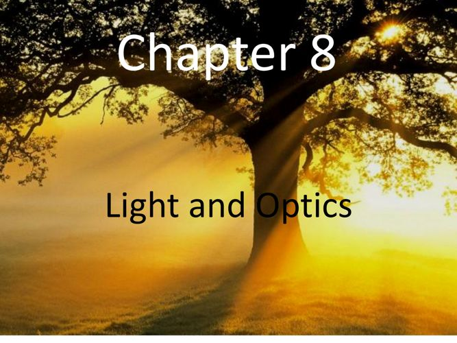 Chapter 8 Light and Optic