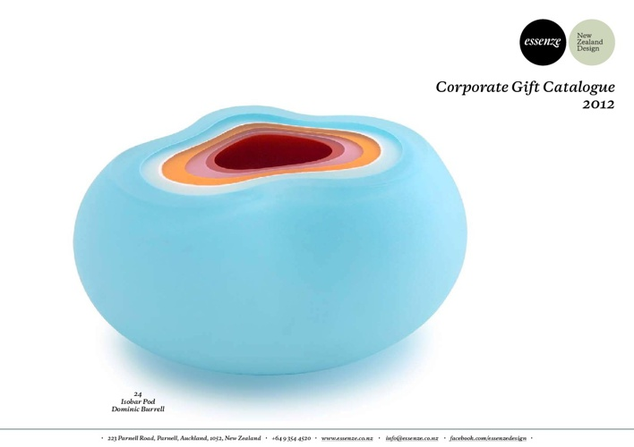 Corporate Gift Catalogue 2012