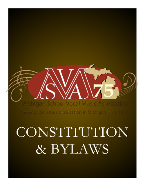 MSVMA Constitution & Bylaws