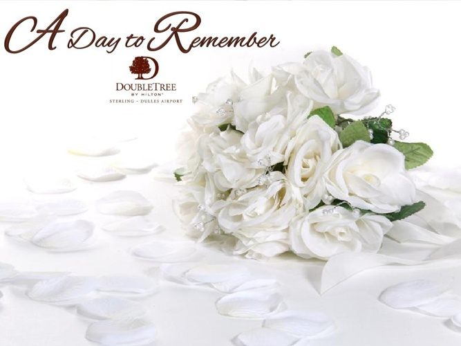 Weddings by the DoubleTree by Hilton Sterling Dulles Airport
