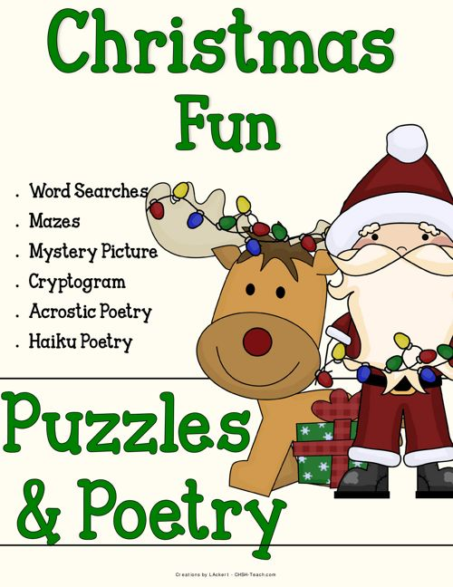 Christmas Puzzles & Poetry