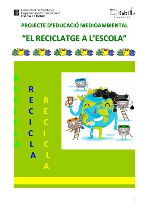 Copy of Projecte de reciclatge