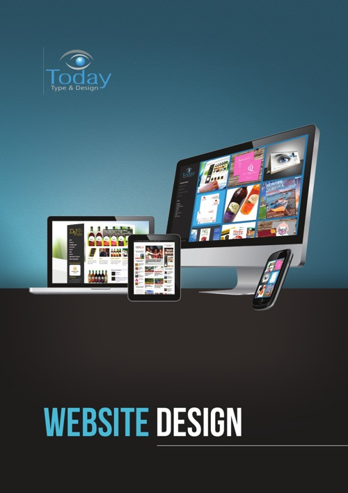 Today Type and Design Web Brochure