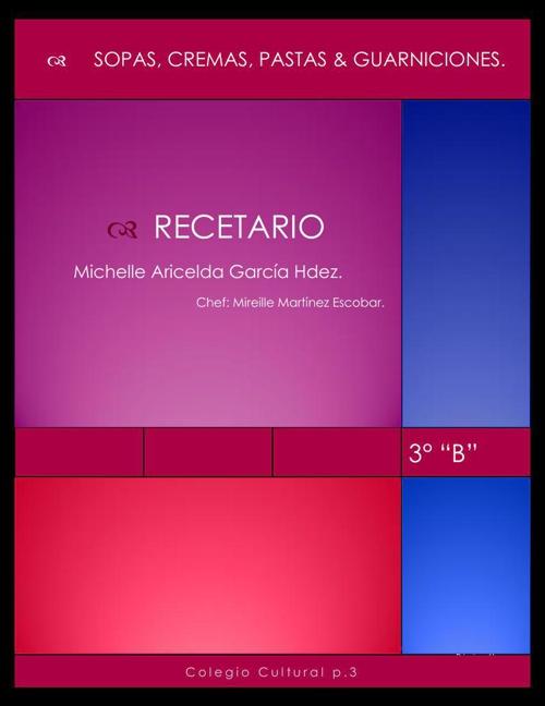 Michelle Aricelda recetario
