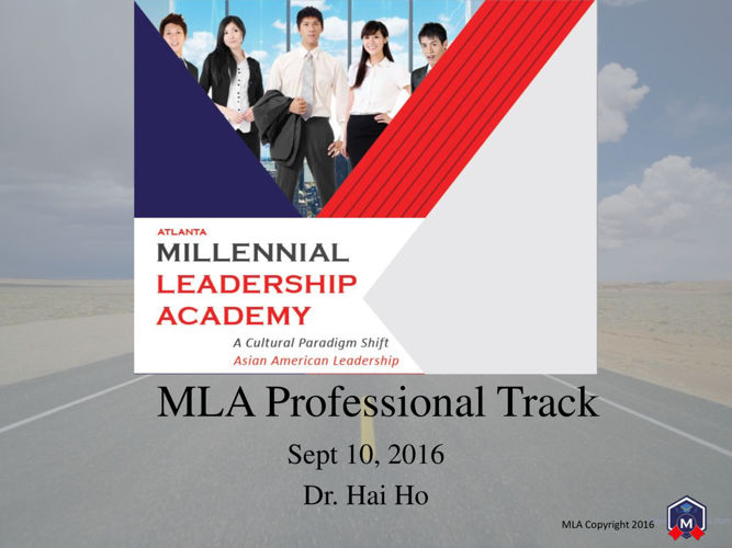MLA Professional Track Day 1 - Publish