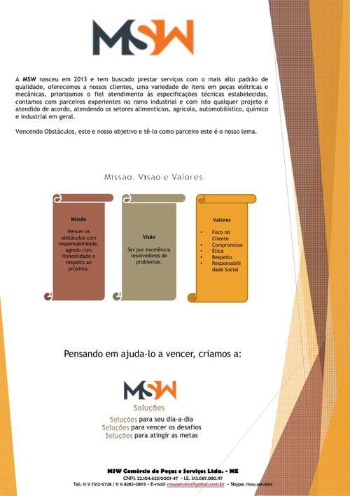 Publicação MSW Soluções
