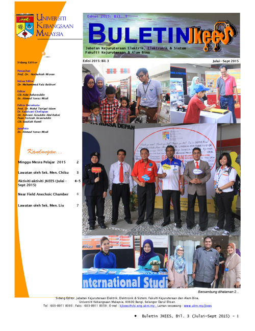Buletin July - Sept 2015