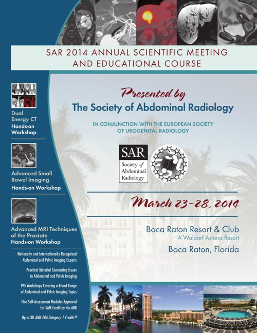 SAR 2014 Annual Scientific Meeting and Educational Course