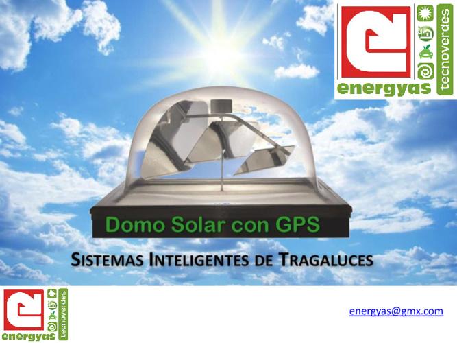 DOMO SOLAR CON SEGUIMIENTO GPS