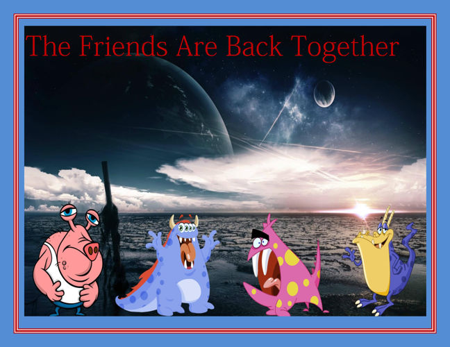 The Friends Are Back Together