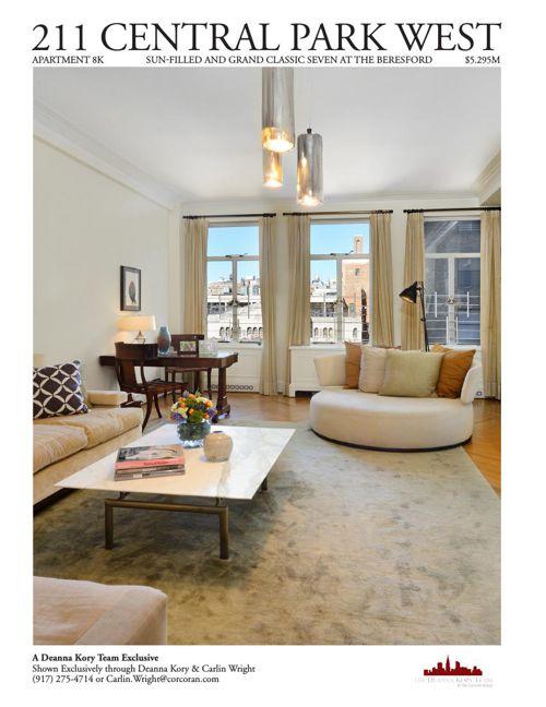 211 Central Park West, Apartment 8K