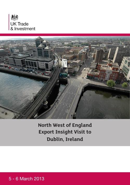 Export Insight Visit to Dublin
