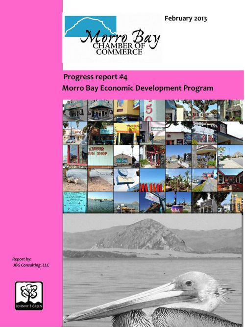 Morro Bay Economic Development Program Progress Reports #1-4