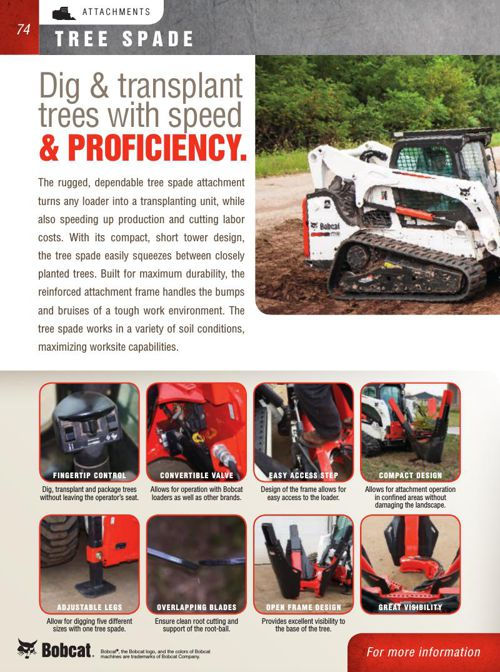 Bobcat Attachment Catalog Part 6