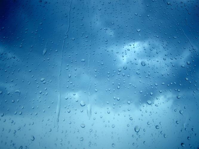 3D-Rain-Drops