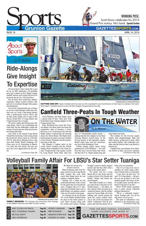 Gazette Sports | April 14, 2016