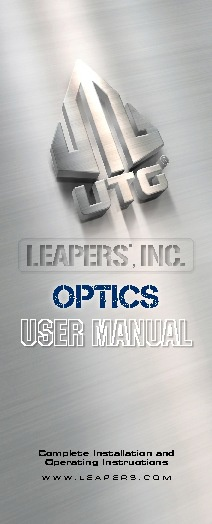 Manual leapers 3-9X50