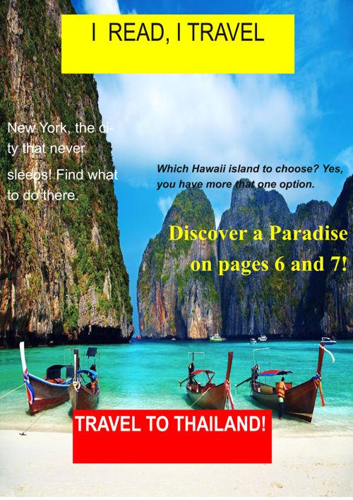 I read I travel