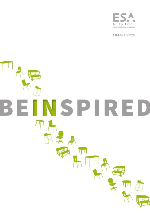 ESA McIntosh BE INSPIRED 2014 Catalogue 1st Edition