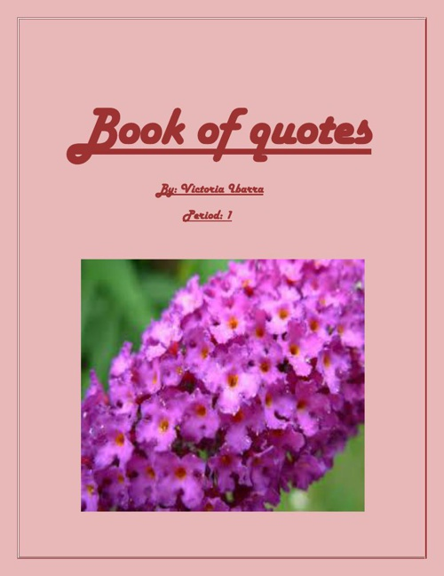 Book of quotes and poems 1