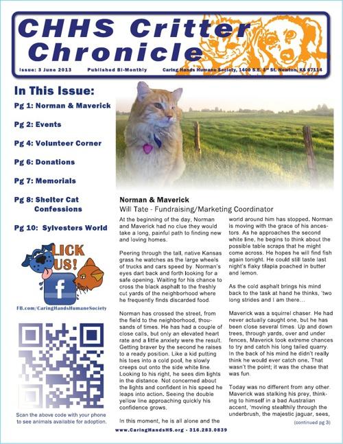 2013 June Newsletter