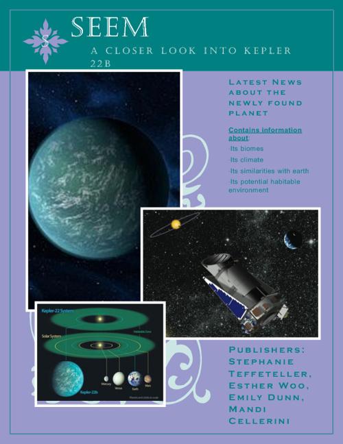 SEEM Magazine (Biology PBL)