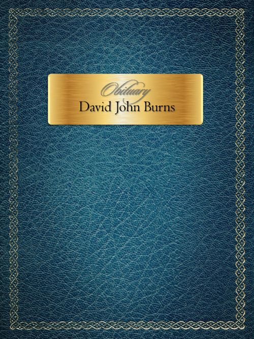 In Loving Memory: David Burns
