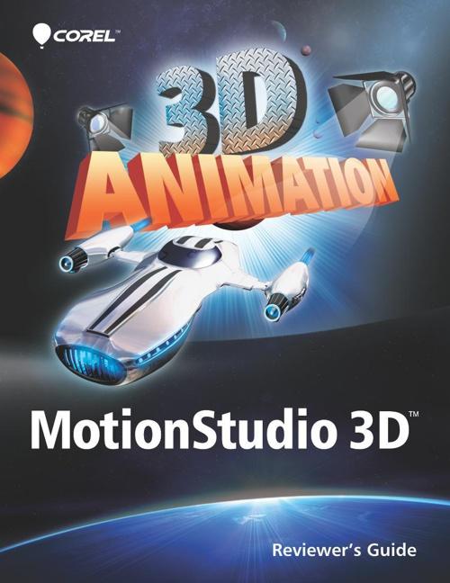 Corel MotionStudio 3D guide