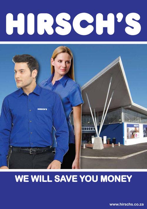 Hirsch Staff Uniform Catalogue