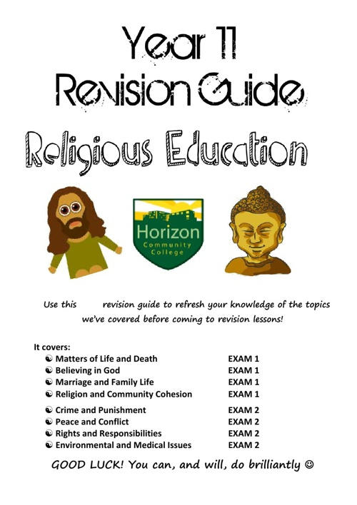 RE Revision Guide