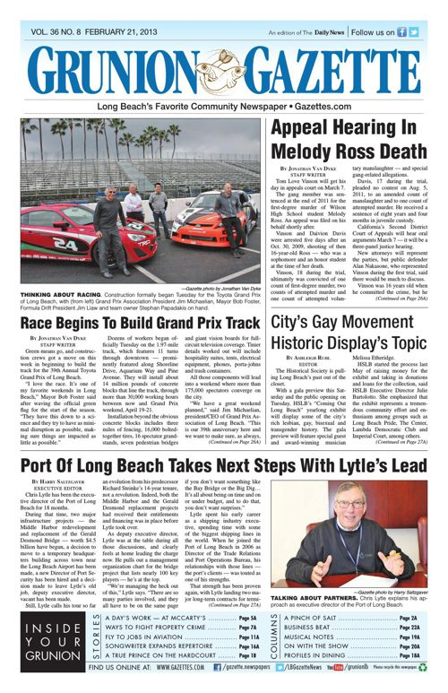 Grunion Gazette | February 21, 2013
