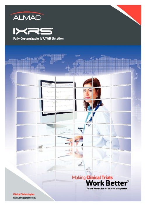 IXRS® Fully Customizable IVR/IWR Solution