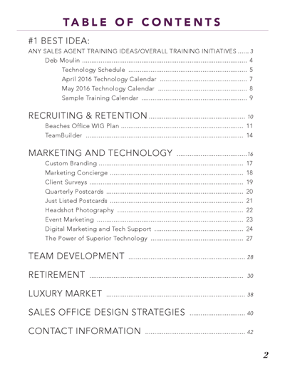 2016 Think Tank Booklet
