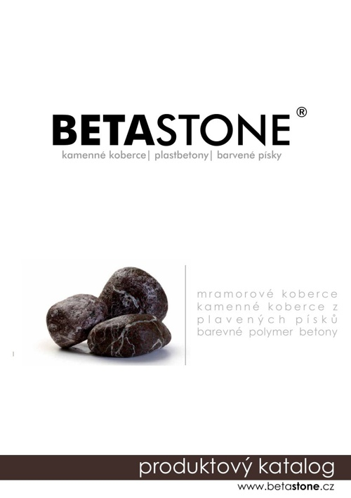 katalog BETASTONE 2014