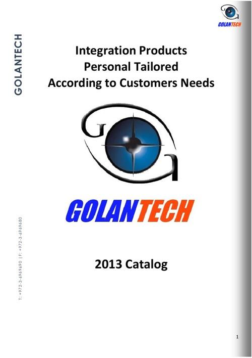 Golantech Catalog 2013