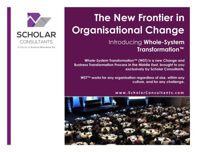 Transforming Organisations in the Middle East