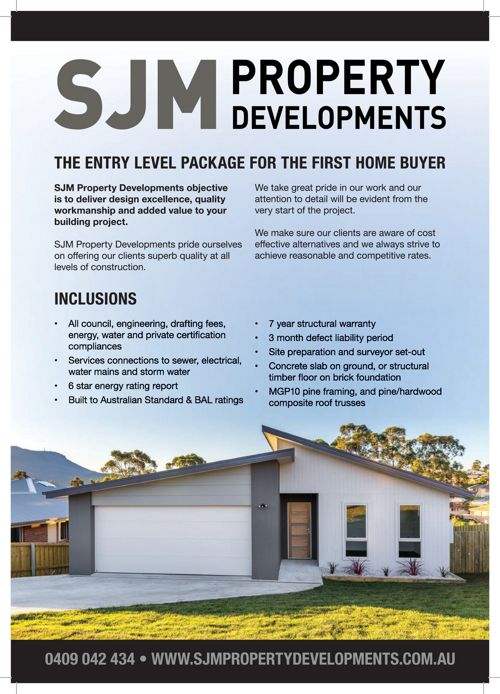 SJM Entry Level Brochure Booklet