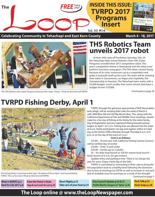The Loop Newspaper - Vol 32 No 04 - March 04 to 18, 2017