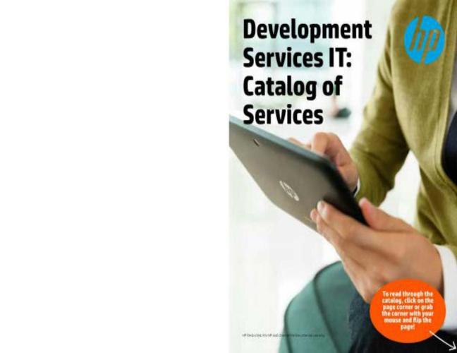 Service Catalog interactive