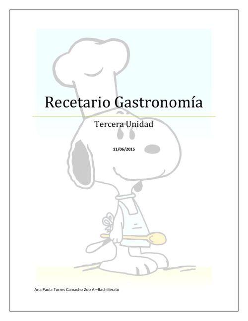 recetario ana paola 2do a