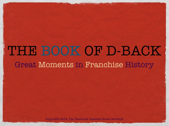The Book of D-Back