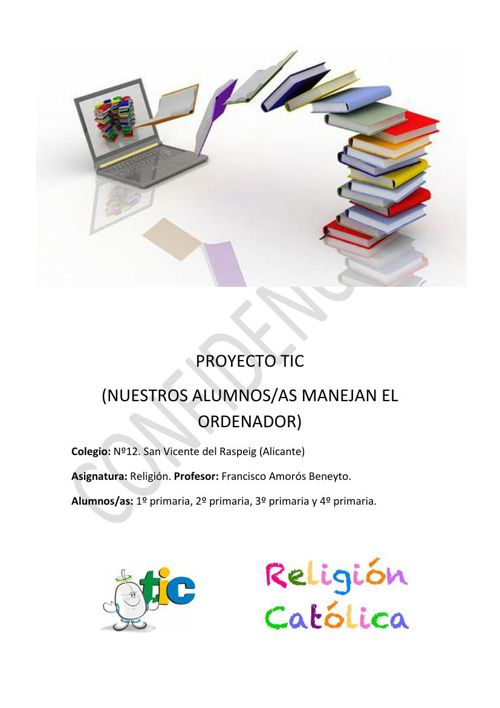 PROYECTO TIC Nº12 (San Vicente del Raspeig)