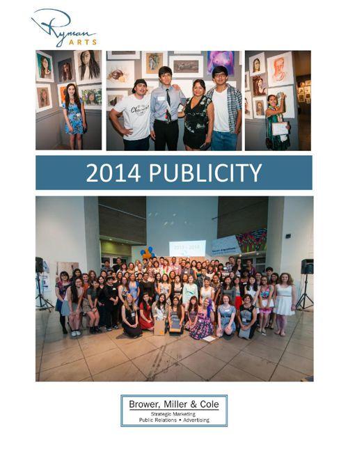 Ryman Arts 2014 Publicity