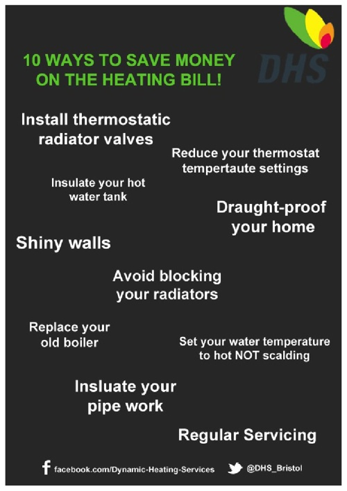 10 Top Tips To Save On Your heating Bill