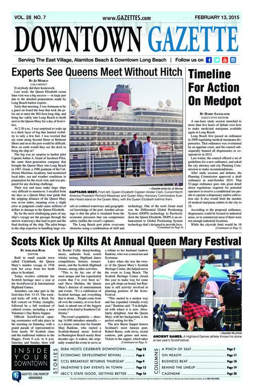 Downtown Gazette  |  February 13, 2015
