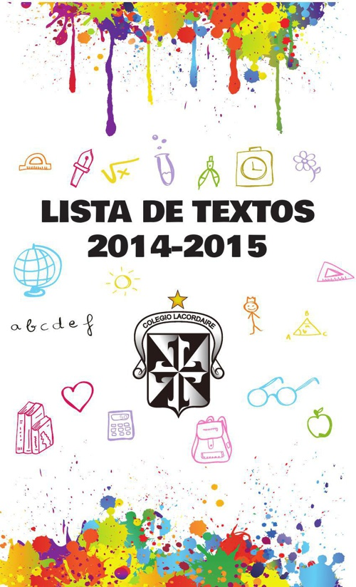 Lista de Útiles Escolares Colegio Lacordaire