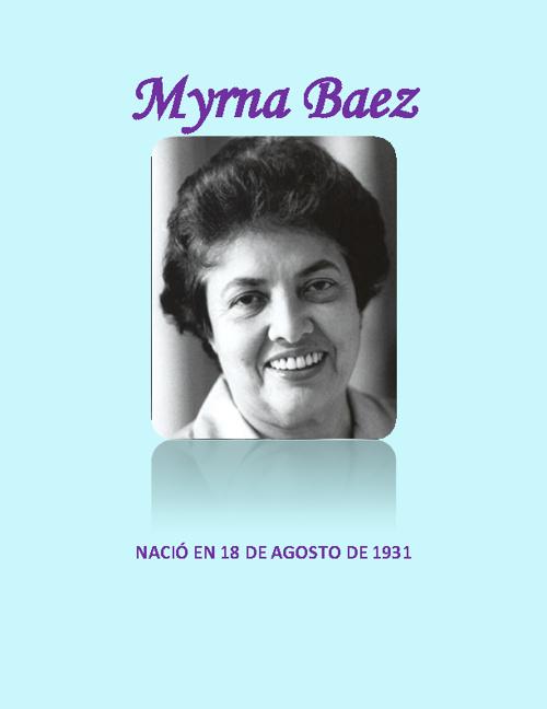 Myrna Baez