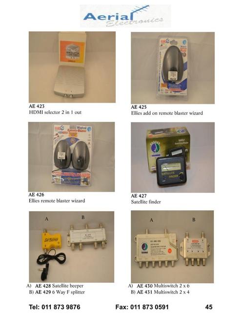 Aerial Electronics Catalog_Part4