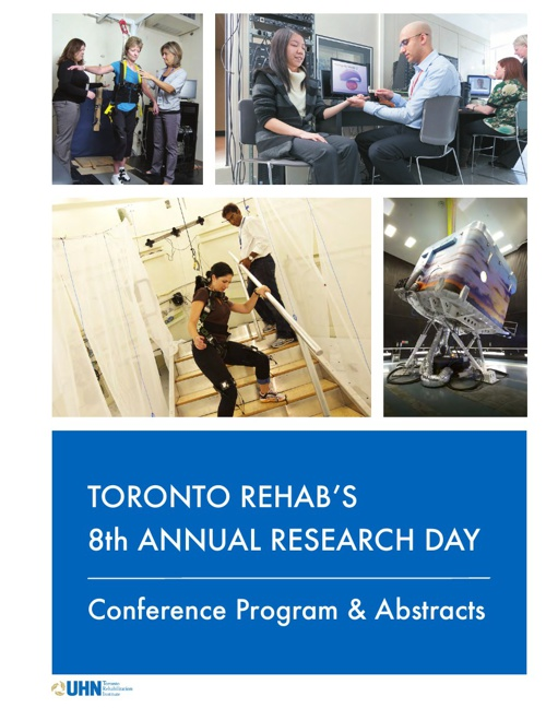 Toronto Rehab Research Day 2012