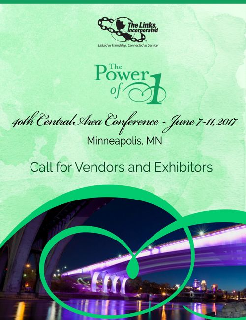 40th Central Area Conference Call to Vendors and Exhibit